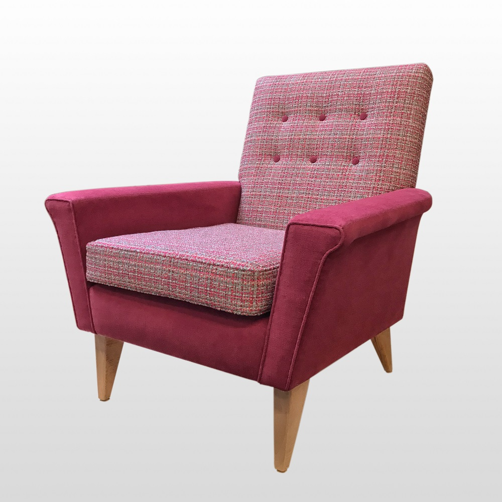 1960's Style Chair heads to Sheffield