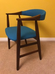 Farstrup chair blue woo lsl11