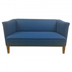 Small-Danish-sofa-blue-wool-front