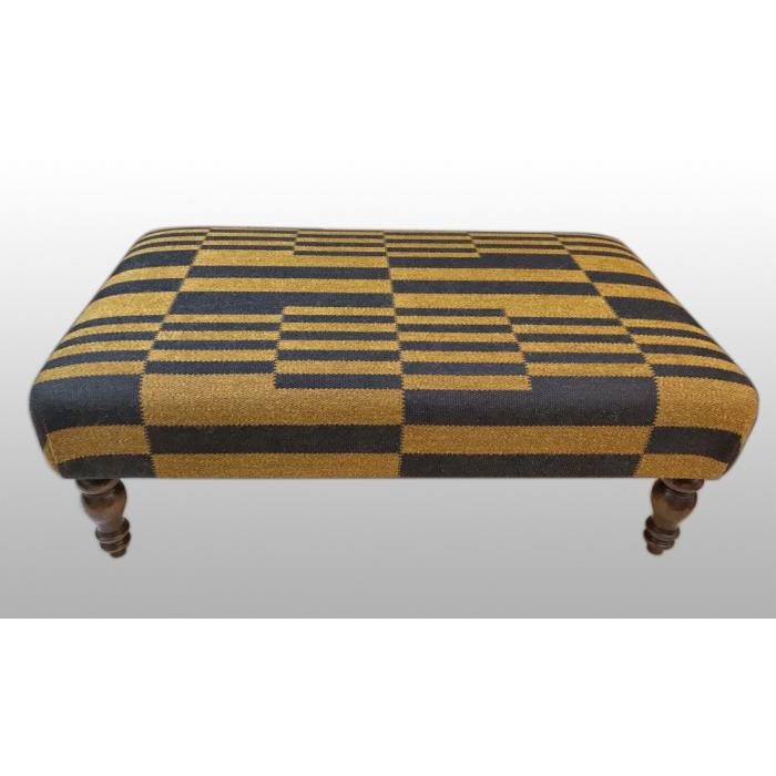 Pierre Frey Country 24 x 40 footstool top.jpg